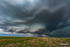 Raymer Supercell (kevin-palmer) Tags: may spring storm thunderstorm severe clouds weather colorado nikond750 raymer sigma14mmf18 green grass supercell afternoon rain