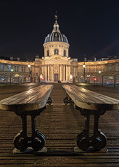 DSC_0502 copie (stefblub) Tags: paris parislanuit parisbynight villelumière cityoflight poselongue longexposure nuit night institutdefrance pontdesarts