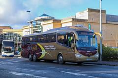 Edinburgh Coach Lines YR17RHF (busmanscotland) Tags: k410eb6 scania irizar i6 edinburgh coach lines scottish citylink gold megabus megabuscom yr17rhf yr17 rhf