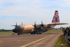 347 Lockheed C-130H Hercules, Royal Jordanian Air Force, RAF Fairford, Gloucestershire (Kev Slade Too) Tags: 347 lockheed c130h hercules royaljordanianairforce specialmarks egva riat2017 raffairford gloucestershire