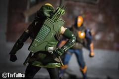 Batman Green Arrow Team Up (ToyTallica) Tags: mezcotoyz mezco mezcotoys mezcoone12 one12 batman justiceleague dc dccomics toyphotography toys toycollecting toytallica toy deathstroke greenarrow arrow