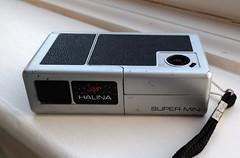 Halina Super Mini (bigalid) Tags: halina supermini 110 88 plastic fixedfocus camera