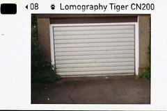 Door test shot (bigalid) Tags: halina supermini 110 plastic fixedfocus lomographytiger200cn may 2019