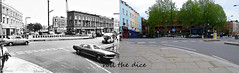 Ladbroke Grove`1971-2019 (roll the dice) Tags: london kensingtonchelsea w10 rough dirty council surreal changes collection urban uk classic england art windows traffic streetfurniture architecture canon tourism tourists local history retro bygone old oldandnew pastandpresent hereandnow icecream sad nostalgia comparison fashion seventies trees balcony catalyst roadworks regenerating community northkensington colour vanished demolished