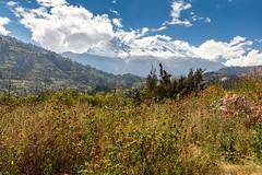 Mount Huascaran viewed from Yungay, Peru