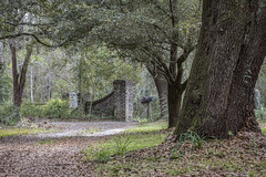 03.20.19 - Lewisfield Plantation Gate House (itsbrandoyo) Tags: abandoned bluffplantation berkeleycounty spring lowcountry southcarolina sc springtime historic history liveoaktrees liveoak oaks plantation cottage lewisfield barn farm rurallife rural country southern jedburg