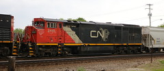 CN 2441, Union, Neenah, 27 May 19 (kkaf) Tags: neenah union nascheme barn c408m a447
