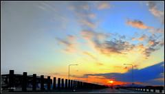 Entardecer (o.dirce) Tags: entardecer sunset pordosol odirce ponte natureza sol nuvens