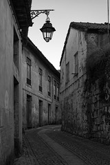 The street (lebre.jaime) Tags: portugal beira covilhã streetlight street house architecture nikon d600 voigtländer nokton 58f14sliis fullframe ff fx ptbw blackwhite bw noiretblanc pb pretobranco affinity affinityphoto