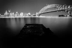2238 Project: Sydney. (Bill Thoo) Tags: sydney kirribilli nsw newsouthwales australia night longexposure landscape cityscape city urban harbour water sydneyharbour sydneyharbourbridge bridge dark film analog analogue filmphotography filmcamera analogphotography analoguephotography 35mm 3mmfilm 35mmfilmphotography 35mmfilmcamera monochrome bnw blackandwhite blackandwhitefilm blackandwhitefilmphotography kodak 2238 1835 kodak2238 2238project olympus om1 olympusom1 zuiko