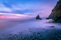 Daybreak at Ampere Beach (Shutter wide shut) Tags: amperebeach aurora dipaculao formatthitechfirecrestprond12 longexposure nature sonyvariotessarfe1635f4zaoss sonya7r3 sunrise beach sea waves