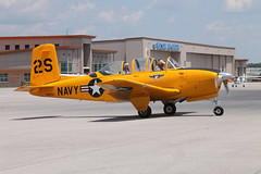 N687HV Beech T-34B Mentor American Airpower Heritage (ChrisChen76) Tags: chattanooga americanairpowerheritage usa beech t34b mentor