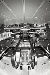 Fulton Centre (sjnnyny) Tags: d750 sjnnyny stevenj nyc nikkor16f28dfisheye manhattan interior atrium urban transit
