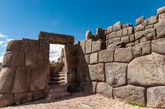 Ruin of Sacsayhuaman (Saqsaywaman), Cusco, Peru (takasphoto.com) Tags: inca citadel unescoworldheritage sacsayhuaman drystone atahualpa サクサイワマン sacsayhuamán 遺跡 incaempire franciscopizarro mancoinca インカ huaynacapac killkeculture waynaqhapaq tupacinca cusco クスコ qosqo 庫斯科 qusqu sacredvalley vallesagradodelosincas urubambavalley valléesacréedesincas thesacredvalleyoftheincas урубамба valleyofyucay peru perú andes quechua andesmountains ペルー 페루 秘魯 precolumbianamerica republicofperu repúblicadelperú перу southamerica americas southernhemisphere américadelsur westernhemisphere 南米 南美洲 南アメリカ ラテンアメリカ
