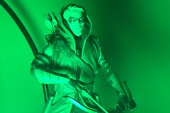 Very GREEN Arrow (misterperturbed) Tags: greenarrow mezco mezcoone12collective one12collective dccomics oliverqueen