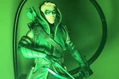 GREEN Arrow (misterperturbed) Tags: greenarrow mezco mezcoone12collective one12collective dccomics oliverqueen