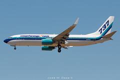 Smart Wings B737-8AL N276EA (José M. Deza) Tags: 20190521 b7378al bcn boeing elprat lebl n276ea planespotting smartwings spotter aircraft