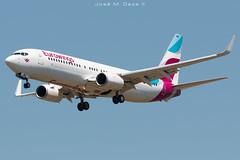 Eurowings B737-86J D-ABMQ (José M. Deza) Tags: 20190521 b73786j bcn boeing dabmq elprat eurowings lebl planespotting spotter aircraft