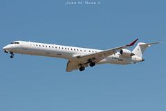 Hibernian Airlines CRJ-1000 EI-HBA (José M. Deza) Tags: 20190521 airnostrum bcn bombardier cl6002e25 crj1000 eihba elprat hibernianairlines lebl planespotting spotter aircraft
