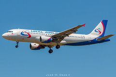 Ural Airlines A320-214 VQ-BNI (José M. Deza) Tags: 20190521 a320214 airbus bcn elprat lebl planespotting spotter uralairlines vqbni aircraft