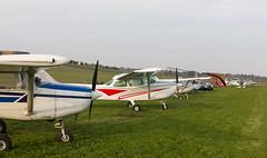 G-BXJM Cessna 152 , Kirriemuir 025 copy (wwshack) Tags: acsflighttraining angus ce152 cessna cessna152 kirriemuir scotland farmstrip gbxjm