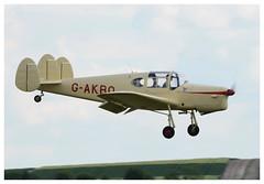 Miles M.38 Messenger landing (Ciaranchef's photography.) Tags: aviationmuseum aviation aviationphotograph nikond7000 nikonaviation tamron150600 iwmduxford duxford