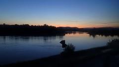 Bevor die Sonne aufging (johannroehrle) Tags: morgengrauen wasser water landscape landschaft donau danube deutschland donarea dunaj regensburg river rzeka kreuzhof