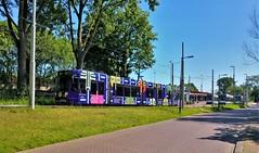 Festival en Flevo (Peter ( phonepics only) Eijkman) Tags: amsterdam city combino gvb tram transport trams tramtracks trolley rail rails strassenbahn streetcars nederland netherlands nederlandse noordholland holland
