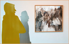 Rétrospective Mady Andrien de 1962 à nos jours, Musée de la Boverie, Liège, Belgium (claude lina) Tags: claudelina belgium belgique belgië liège musée museum laboverie oeuvre sculpture madyandrien tableai peinture painting