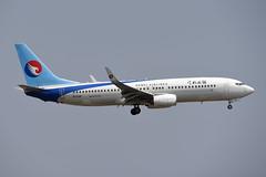 Hebei Airlines Boeing 737-8LW(WL) B-1129 (EK056) Tags: hebei airlines boeing 7378lwwl b1129 bangkok suvarnabhumi airport