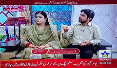 Star Asia News iftar transmission with Megha - Kamran Hayat (Kamran Hayat) Tags: starasianews with meghajee guest kamranhayat megha iftar transmission iftartransmissionwithmegha