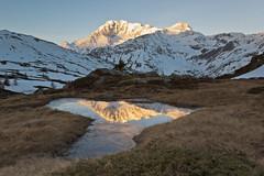 Riflessi (cesco.pb) Tags: passodelsempione simplonpass switzerland svizzera fletschhorn alps alpi canon canoneos60d tamronsp1750mmf28xrdiiivcld montagna mountains alba dawn sunr
