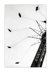Tivoli Copenhagen (K.Pihl) Tags: olympusom1 bw film monochrome analog tivoli blackwhite amusementpark schwarzweiss hc110b zuiko85mmf20 overexposedoverdeveloped pellicolaanalogica kodaktrix400200