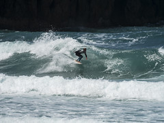 surf11 (belovez) Tags: surf surfer surfing water ocean sea mar oceano playa beach surfboard wave ola xago asturias gozon spain enjoy summer aquatic sports deportes deporte trick session crew rider localsonly panorama landscape sky cielo