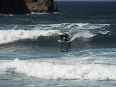 surf06 (belovez) Tags: surf surfer surfing water ocean sea mar oceano playa beach surfboard wave ola xago asturias gozon spain enjoy summer aquatic sports deportes deporte trick session crew rider localsonly panorama landscape sky cielo