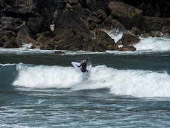 surf04 (belovez) Tags: surf surfer surfing water ocean sea mar oceano playa beach surfboard wave ola xago asturias gozon spain enjoy summer aquatic sports deportes deporte trick session crew rider localsonly panorama landscape sky cielo