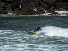 surf03 (belovez) Tags: surf surfer surfing water ocean sea mar oceano playa beach surfboard wave ola xago asturias gozon spain enjoy summer aquatic sports deportes deporte trick session crew rider localsonly panorama landscape sky cielo