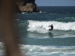 surf13 (belovez) Tags: surf surfer surfing water ocean sea mar oceano playa beach surfboard wave ola xago asturias gozon spain enjoy summer aquatic sports deportes deporte trick session crew rider localsonly panorama landscape sky cielo