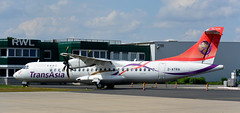 ATR72   2-ATRA   MGL   20190525 (Wally.H) Tags: atr72 2atra transasiaairways mgl edln mönchengladbach airport