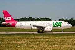 LZ-MDA (PlanePixNase) Tags: aircraft airport planespotting haj eddv hannover langenhagen airvia airbus 320 a320