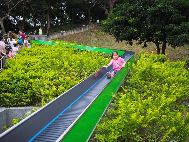 中和錦和運動公園,超長滾輪溜滑梯