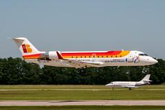 EC-JCL (PlanePixNase) Tags: aircraft airport planespotting haj eddv hannover langenhagen crj200 crj2 bombardier iberia nostrum air