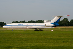 RA-85660 (PlanePixNase) Tags: aircraft airport planespotting haj eddv hannover langenhagen krasair tupolev t154 tu154