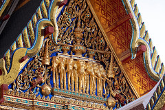 The Padiment of Phra Ubosot, Wat Ratchabophit (aey.somsawat) Tags: architecture bangkok buddhism buddhisttemple kingchulalongkorn kingramav temple thaiarchitecture thailand wat watratchabophit