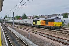 Lyney Tyney (JohnGreyTurner) Tags: br rail uk railway train transport tyneside diesel engine locomotive colas 60 class60 tug hoppers biomass freight gbrf