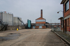 Blue and red (jefvandenhoute) Tags: belgium belgië antwerp antwerpen petrolzuid industrialarcheology industrial