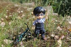 Toby come here!!! (Ninotpetrificat) Tags: nendo nendoroid nendodoll cute toys handmade hobby kawaii yuri spielzeug japantoy asiantoy japanfigure yurionice yurikatsuki