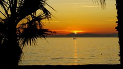 Greece - A sunset in Edem (monte-leone) Tags: landscape landschaft greece griechenland panorama twilight sunset sunrise korinth corinthian corinth sea gulf golf meer mare