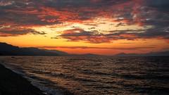Greece - A sunset in the Corinthian Gulf (monte-leone) Tags: corinthian gulf golf korinth corinth sea meer mare landscape landschaft sunset sunrise twilight panorama greece griechenland