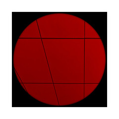 Black lines Red Circle (Jean-Louis DUMAS) Tags: art abstract artistic abstraction artiste abstrait artistique artist red rouge noir black circle cercle carré square sony